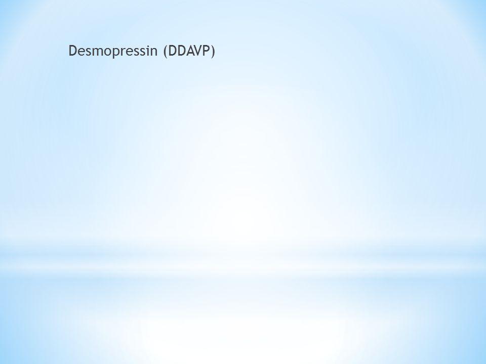 Desmopressin (DDAVP)