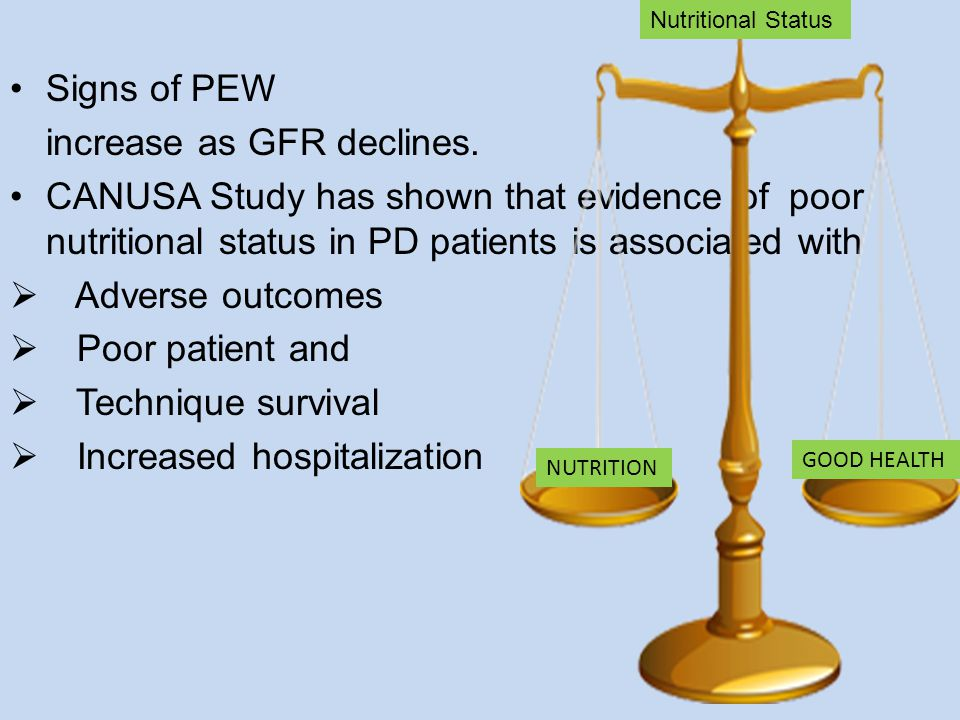 Percentage of patients below, within, or above phosphate treatment targets by GFR category.
