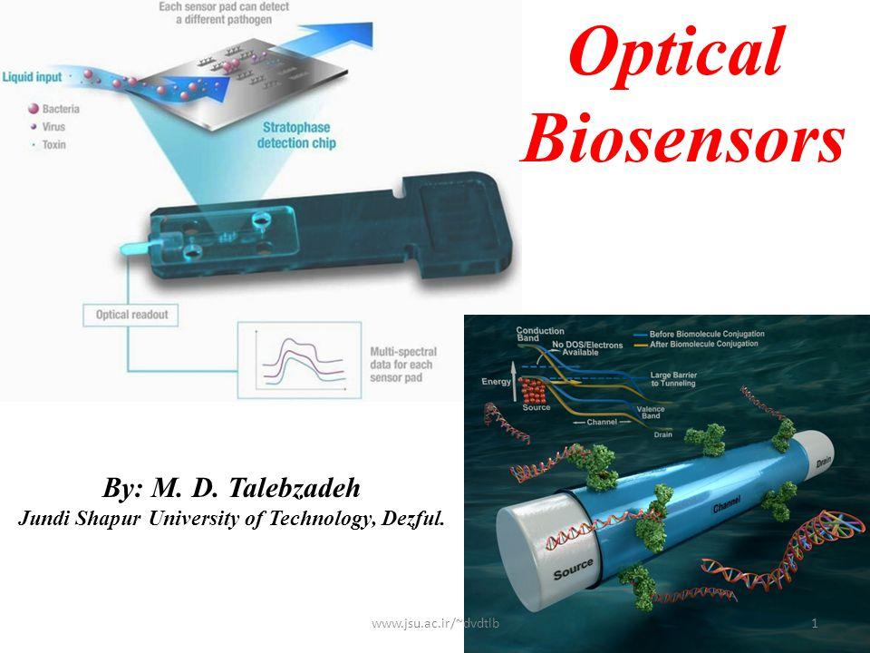 Optical Biosensors By: M.D. Talebzadeh Jundi Shapur University of Technology, Dezful.