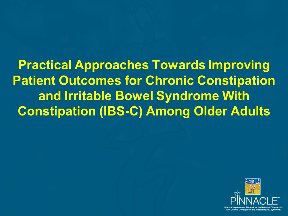 Differentiating Between Occasional and Chronic Constipation Occasional ConstipationChronic Constipation Infrequent Present for at least 3 months and may persist for years Occasional or short-term condition that may temporarily interrupt usual routine Long-term condition that may dominate personal and work life May be brought on by patient's behavior, change in diet, lack of exercise, illness, or medication Not only related to patient's behavior, change in diet, lack of exercise, or medication May be relieved by diet, exercise, and over-the-counter (OTC) medication May need medical attention and prescription medication
