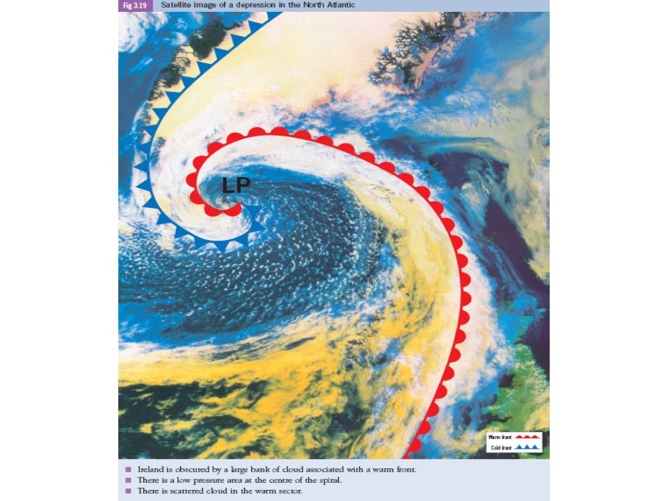 Depressions A Depression is an area of Low Atmospheric Pressure. Depressions are also known as Cyclones. Depression often pass over Ireland. Depressio