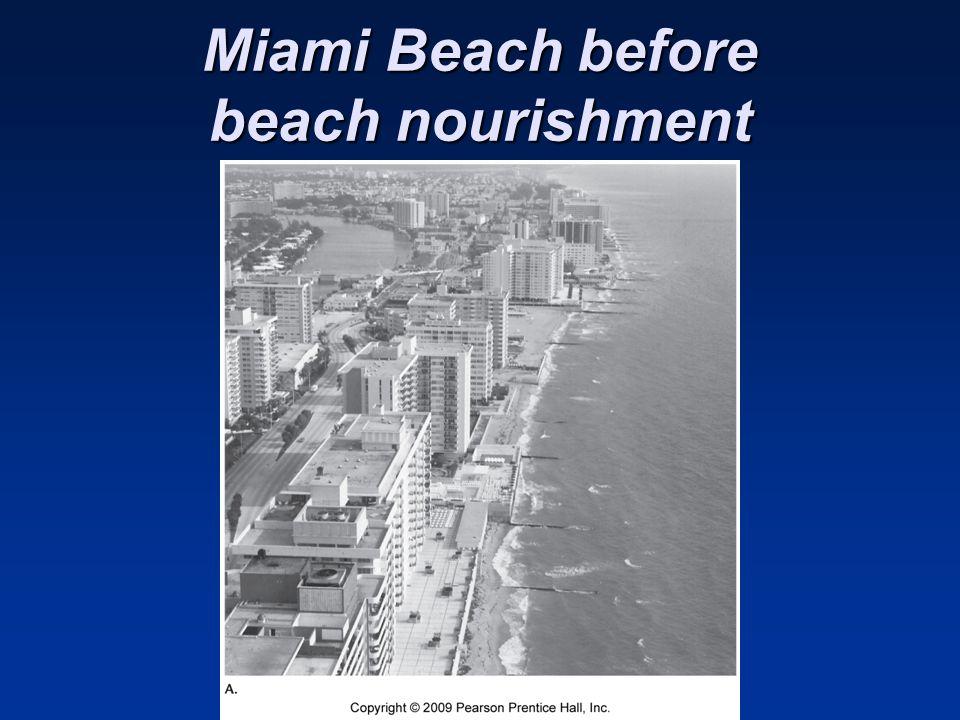 Miami Beach before beach nourishment