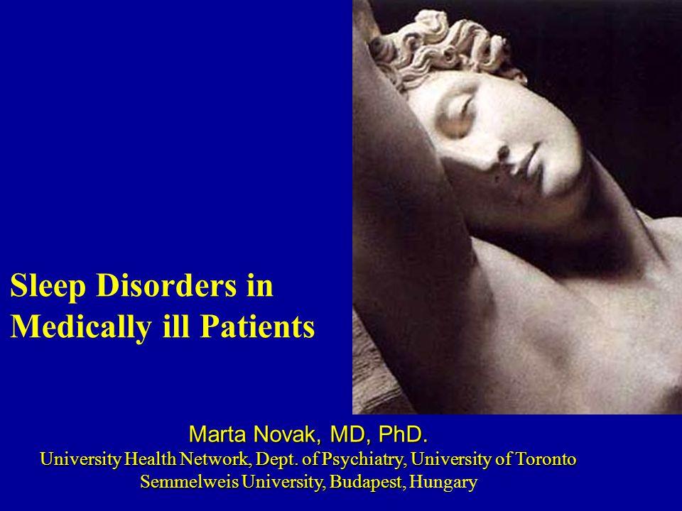 Marta Novak, MD, PhD. University Health Network, Dept.