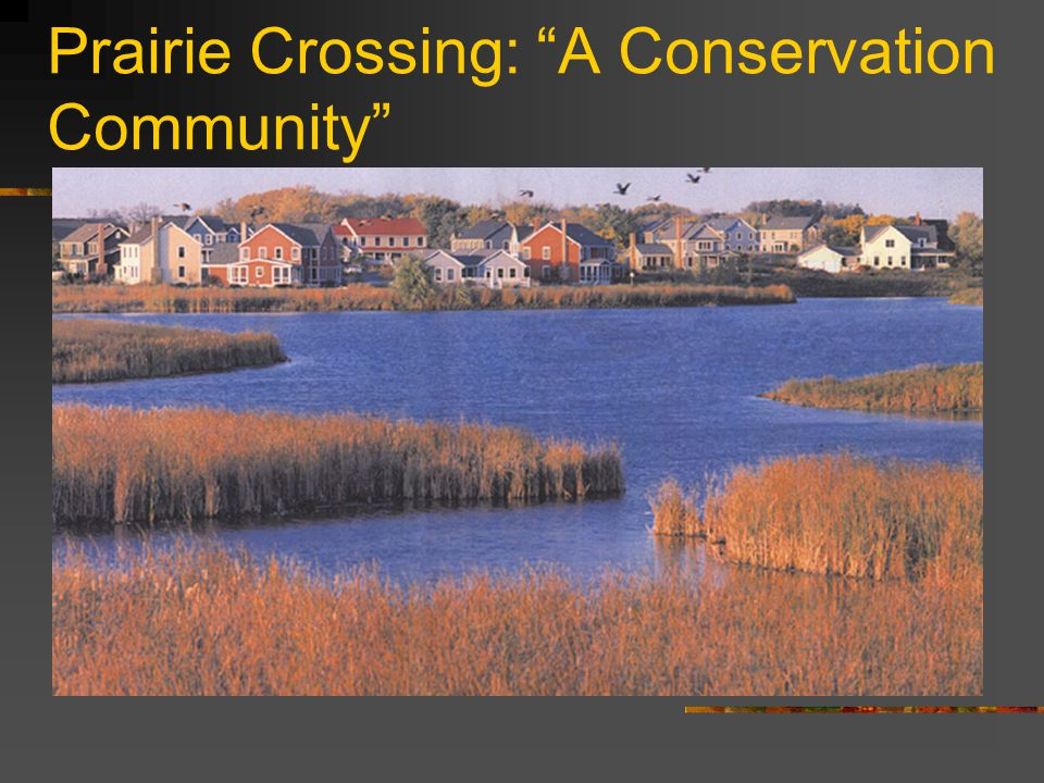 """Prairie Crossing: """"A Conservation Community"""""""