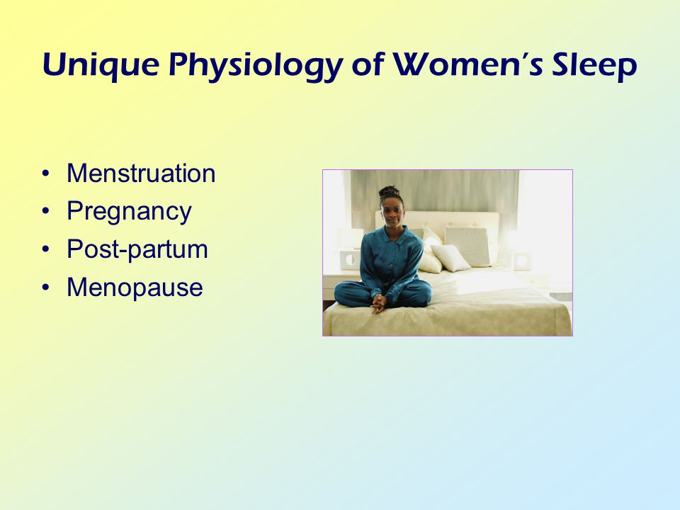 Menstruation Pregnancy Post-partum Menopause