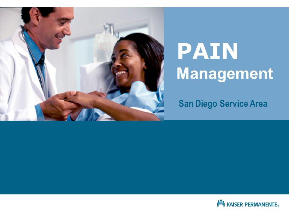 PAIN Management San Diego Service Area