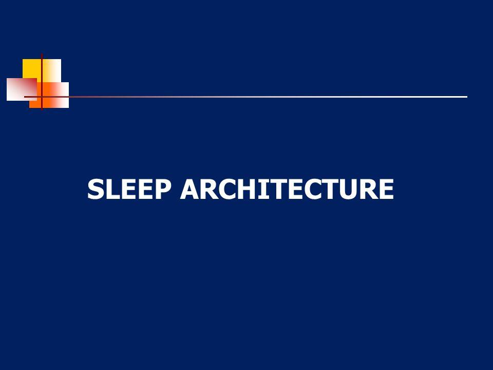 Sleep waveform schematic