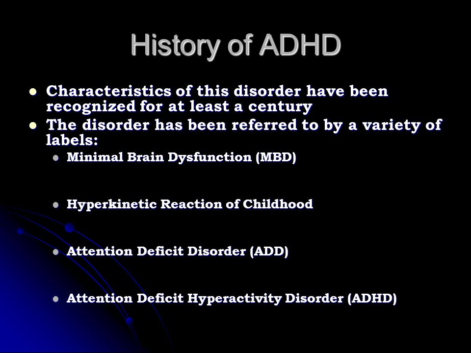 Comorbidity & ADHD Why is it essential to consider the possibility of comorbid conditions in assessing children with ADHD.