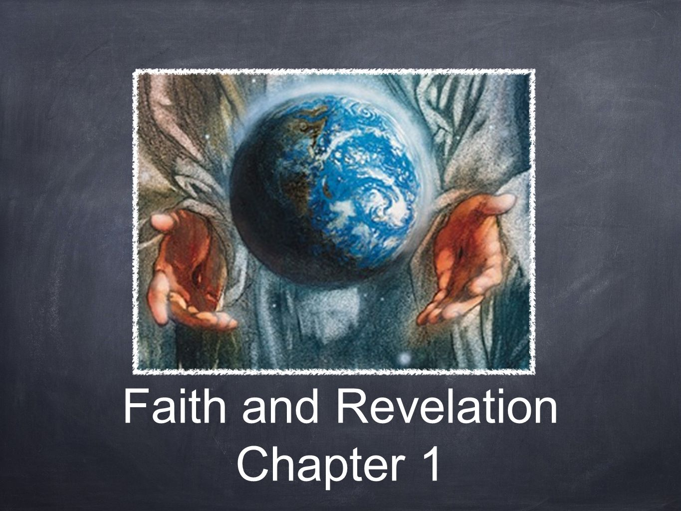 Knowing God Through Natural Revelation Communicated through the existence of creation.