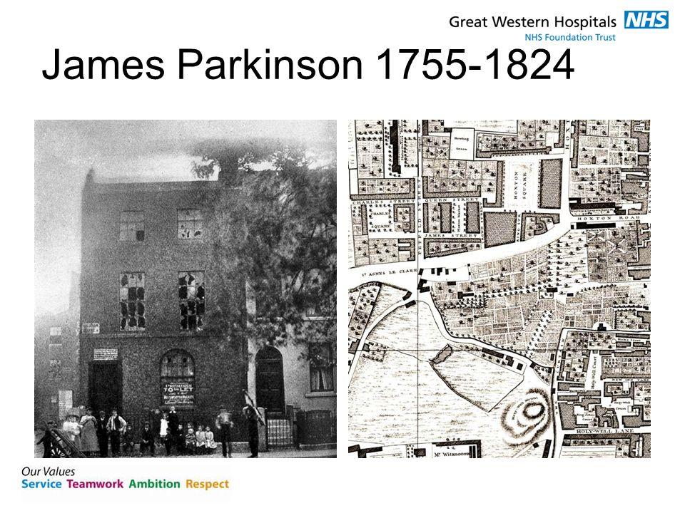 James Parkinson 1755-1824