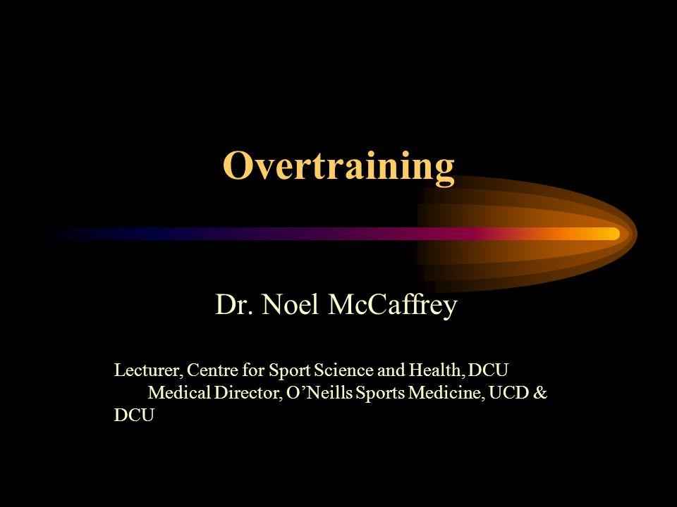 Overtraining Dr.