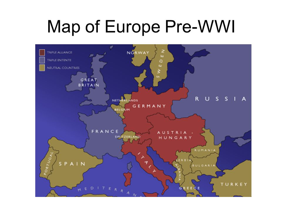 Rising Tensions in Europe Imperialism Competition for colonies stirs mistrust among European nations Mutual animosity spurs European countries to Militarism European nations engaged in arms race Militarism—policy of glorifying military power, preparing army Increase competition and mistrust