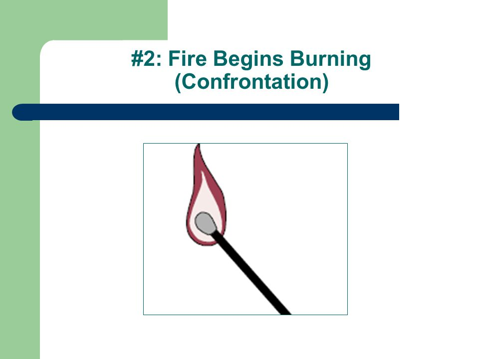 #2: Fire Begins Burning (Confrontation)