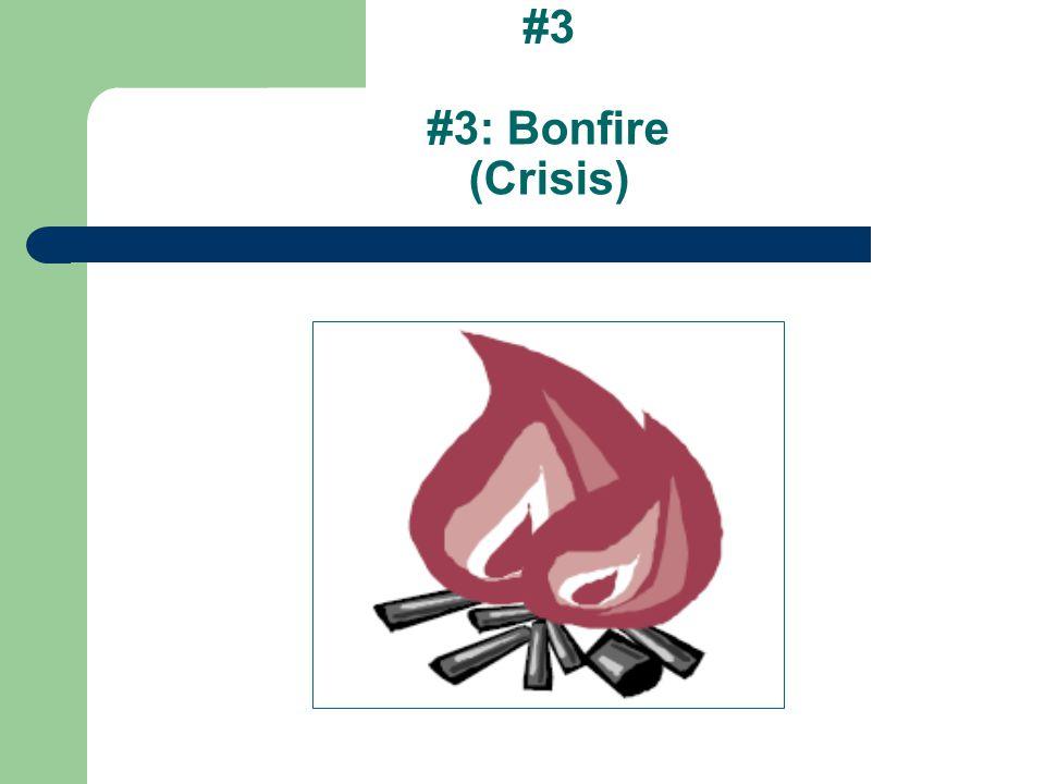 #3 #3: Bonfire (Crisis)