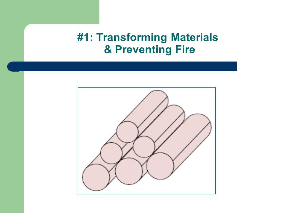 #1: Transforming Materials & Preventing Fire