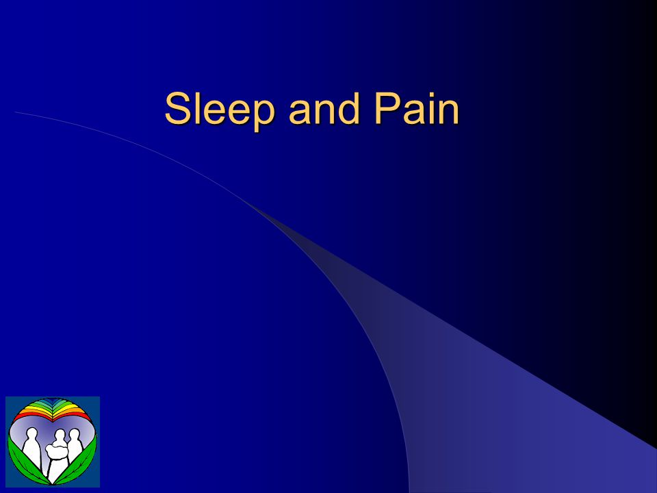 Sleep and Pain