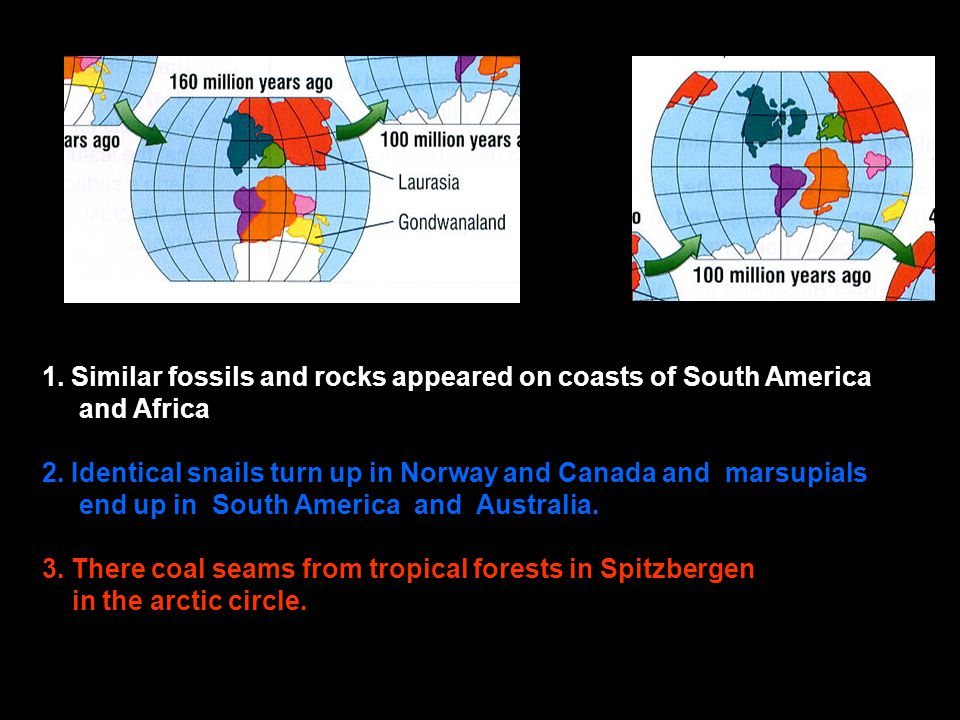 Problems e Problems emerged with the cooling earth idea...