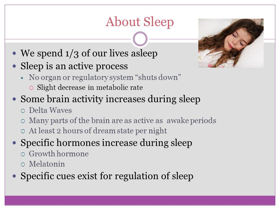 Consequences of sleep disorders