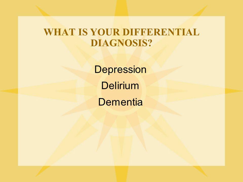 EPIDEMIOLOGY  Delirium is OFTEN UNRECOGNIZED!.