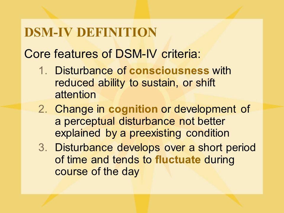WHAT ARE COMMON POTENTIAL CAUSES OF DELIRIUM.
