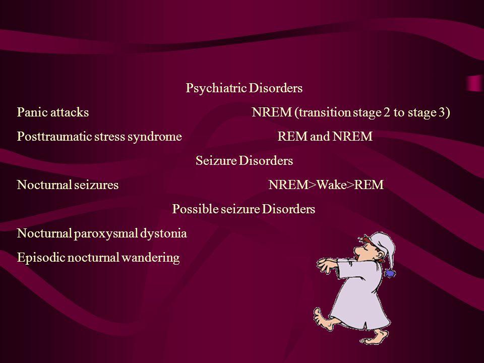 Differential Diagnosis of Unusual Behavior Associated With Sleep Normal Sleep Phenomena Diagnosis Usual Sleep Stage Sleep starts (hypnic jerks) Sleep