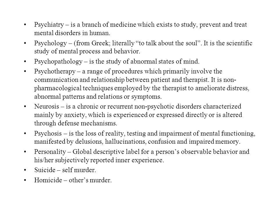 I.Consciousness: State of Awareness. A.