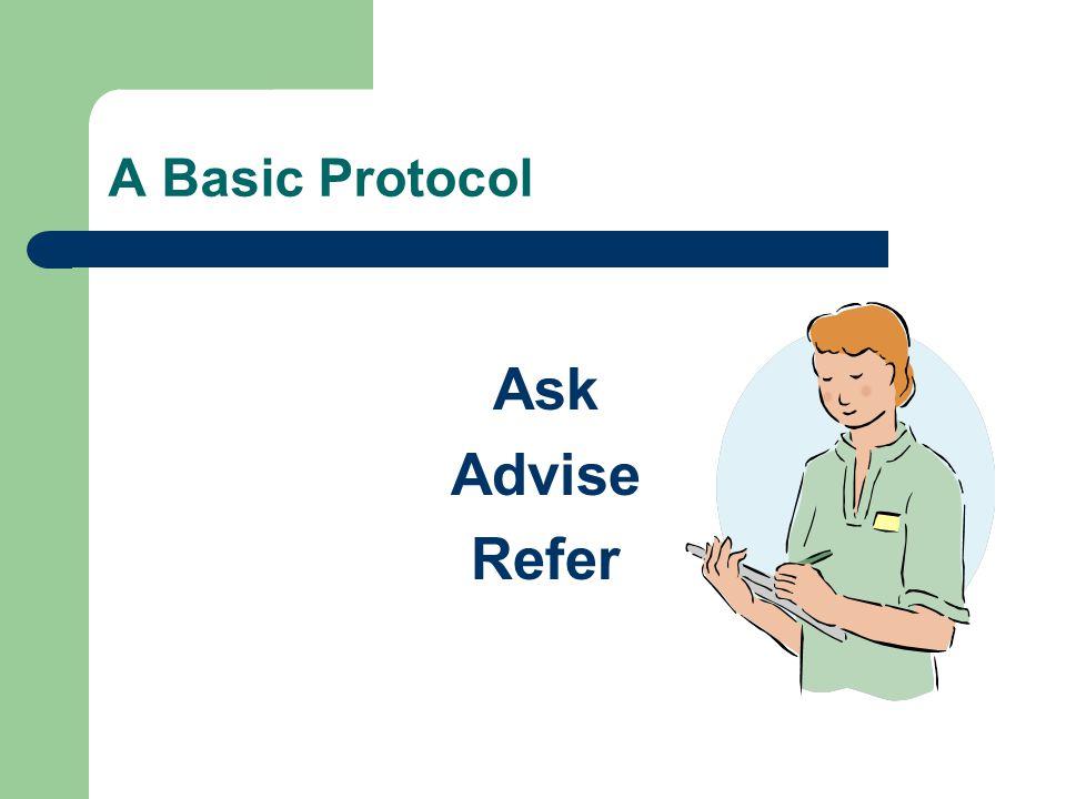 A Basic Protocol Ask Advise Refer
