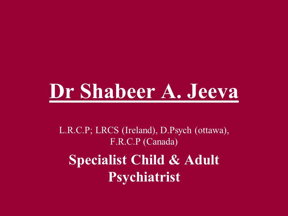 Dr Shabeer A.