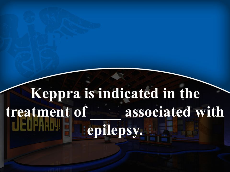 Keppra is indicated in the treatment of ____ associated with epilepsy.