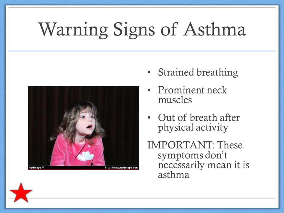 Asthma can be controlled.