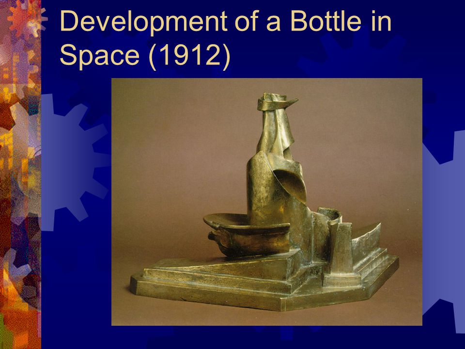 Development of a Bottle in Space (1912)