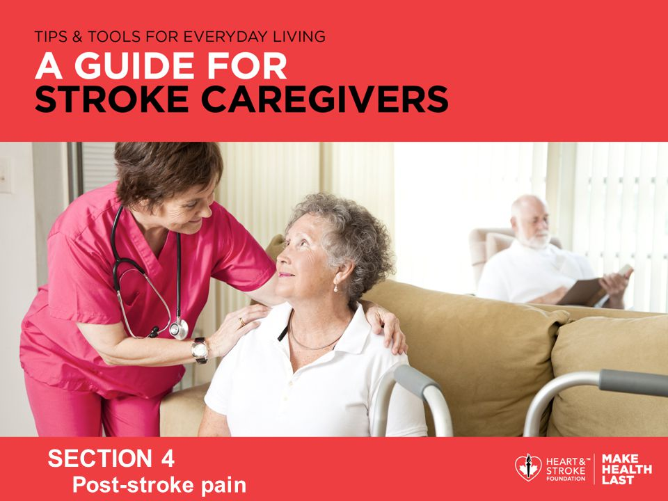 SECTION 4 Post-stroke pain