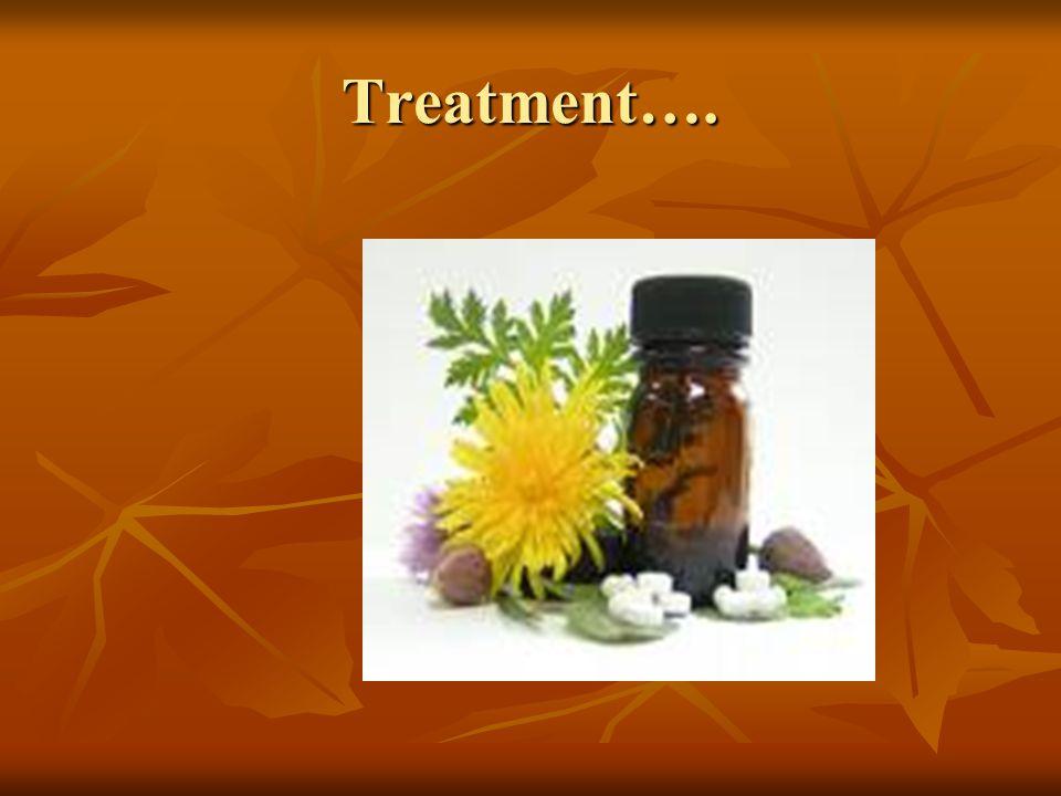 Treatment….