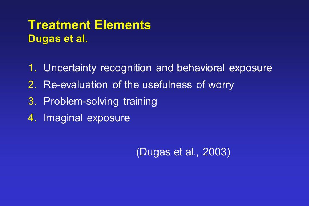Treatment Elements Dugas et al.