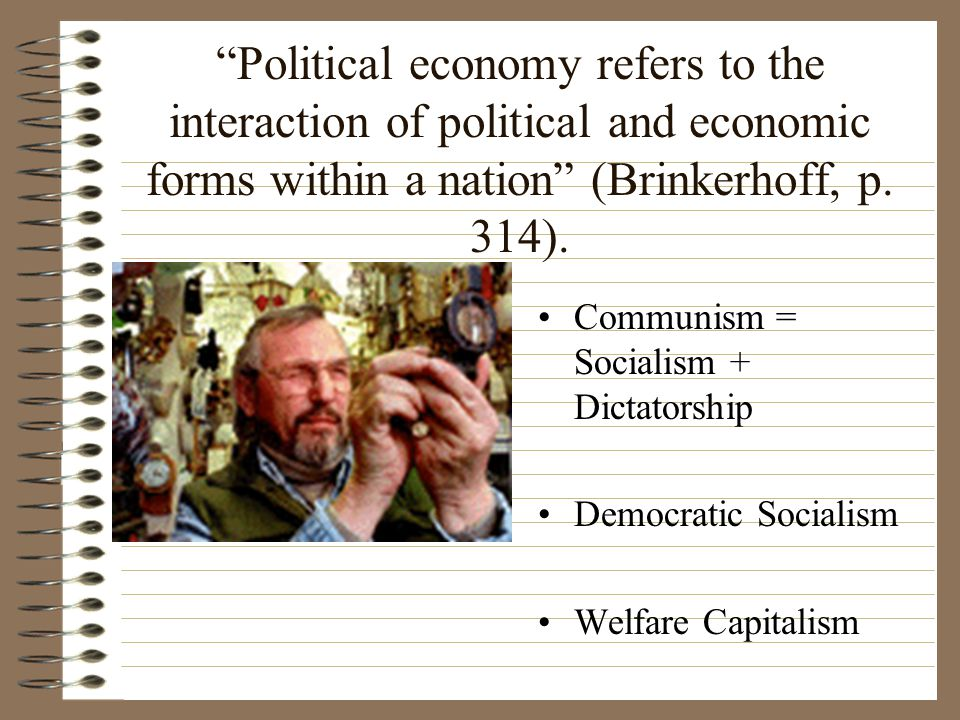 Characteristics of Socialism Means of production owned by group (state) equitable distribution as incentive managed markets