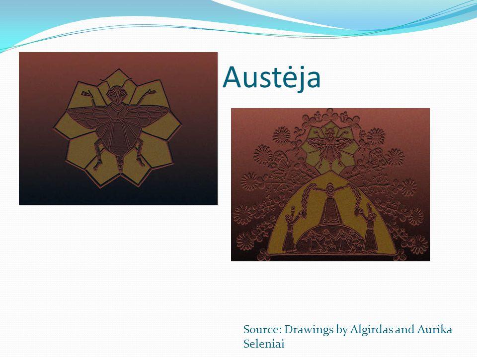 Austėja Source: Drawings by Algirdas and Aurika Seleniai