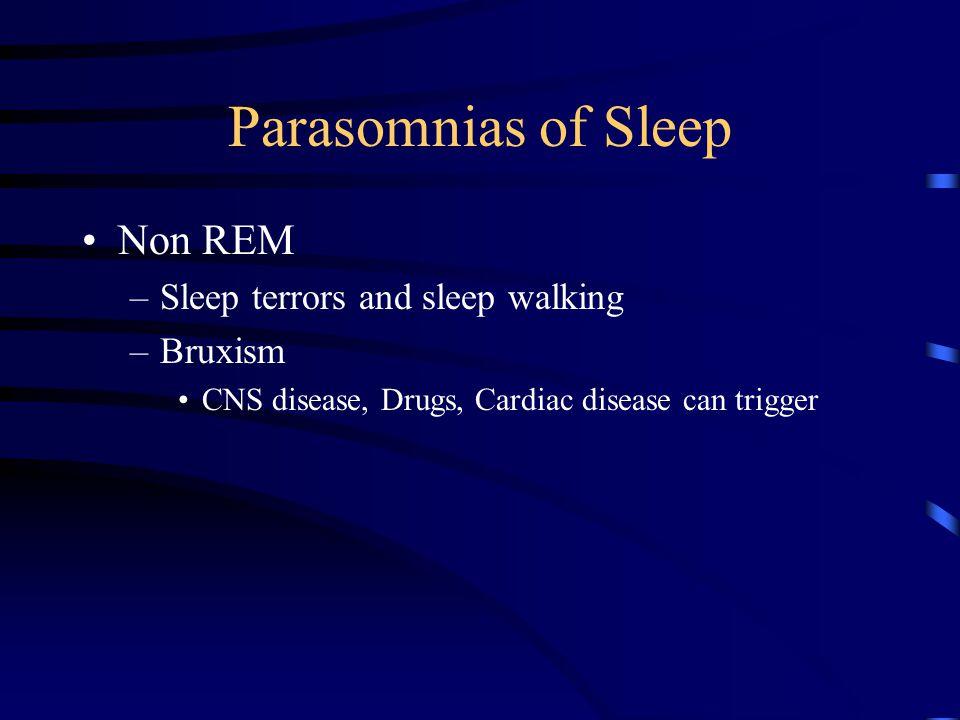 Sleep Apnea Disorders of breathing and sleep Obstructive sleep apnea –Clinical manifestations –Treatment Central sleep apnea –Restrictive lung disease –Neuromuscular disease –Cardiac –Neurological