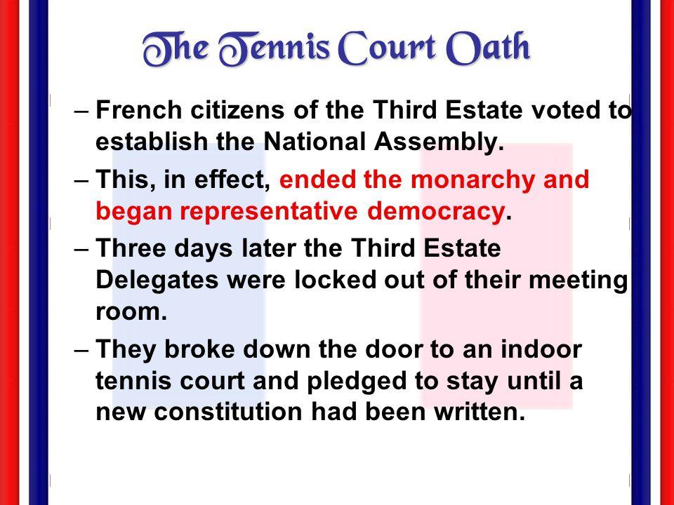 """The Tennis Court Oath"" by Jacques Louis David June 17, 1789"
