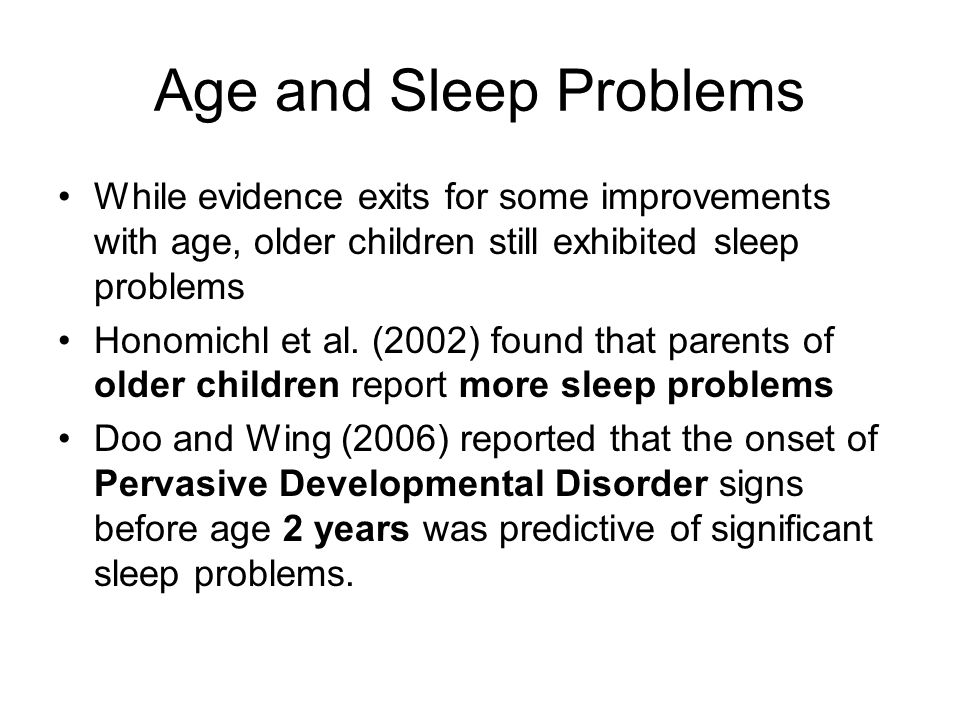 Present Sleep Schedule Typically goes to bed 10:30- 11:00.