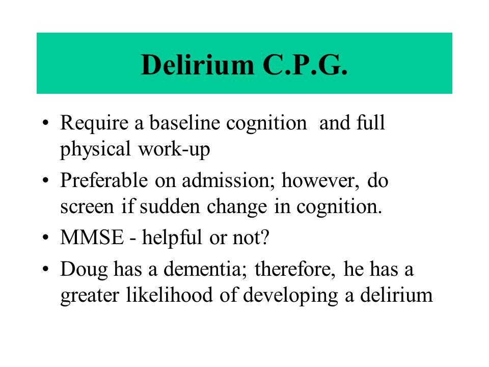 Delirium C.P.G.