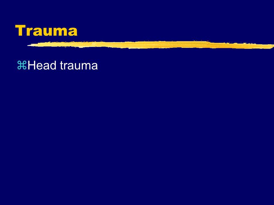 Trauma zHead trauma