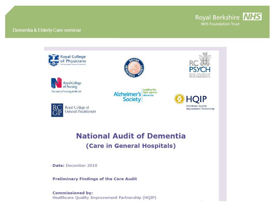 Dementia & Elderly Care seminar