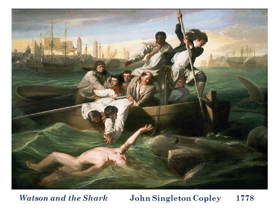 Watson and the Shark John Singleton Copley 1778