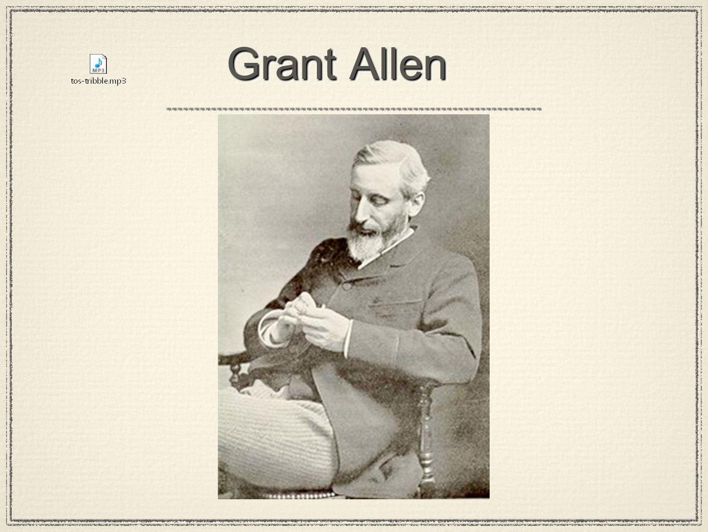 Grant Allen