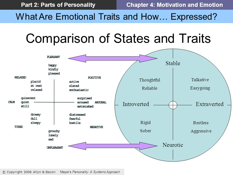 What Are Emotional Traits and How… Expressed.