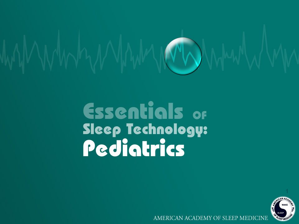 2 Goals of this Presentation 1.Learn how to prepare for a successful pediatric sleep study 2.Learn what to look for and how to respond during the study 3.Learn about pediatric sleep disorders and their treatments