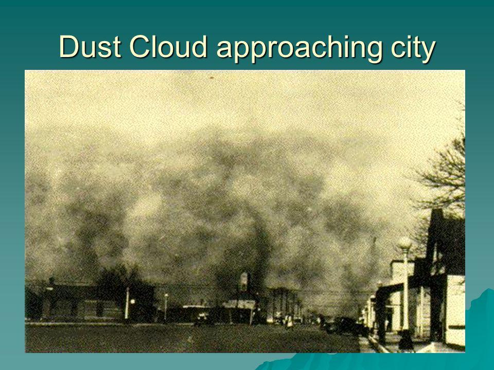 Dust Cloud approaching city