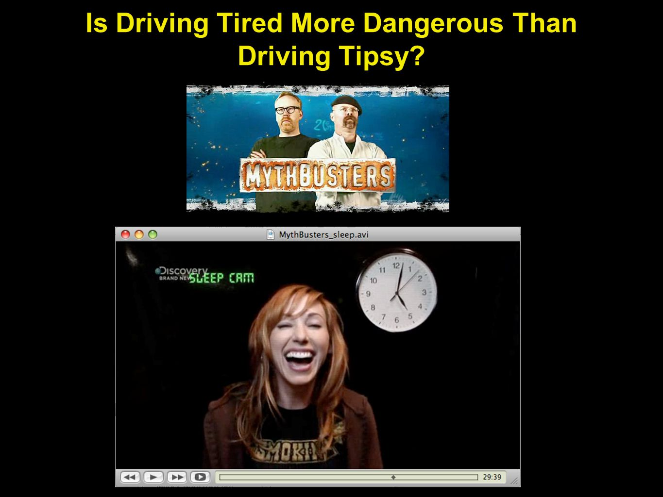 Is Driving Tired More Dangerous Than Driving Tipsy?
