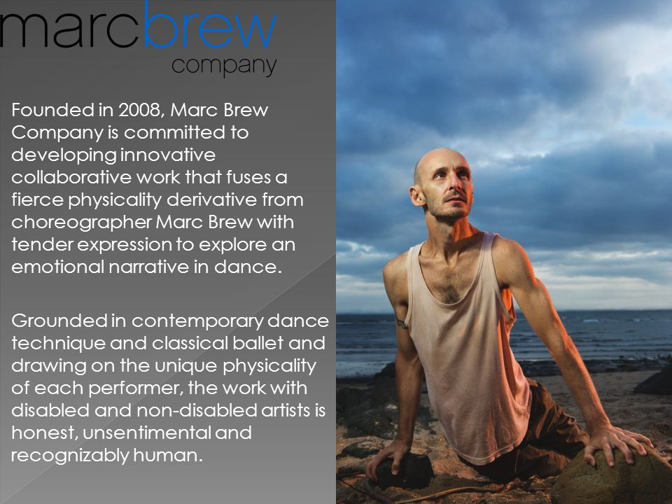 (i)land centres on a 6 ton pile of sand representing the land the characters find themselves in, and this provides a safe dance space in which Marc can explore movement in solo, duet and trio forms away from his wheelchair.