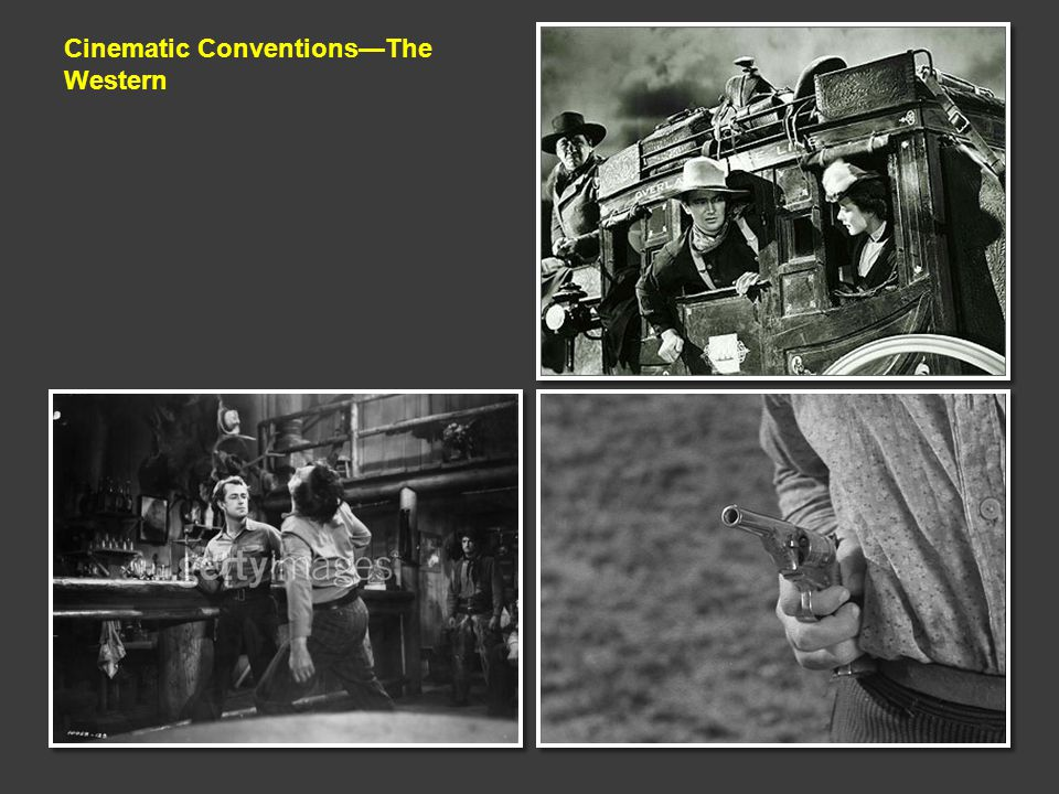 Cinematic Conventions—The Western